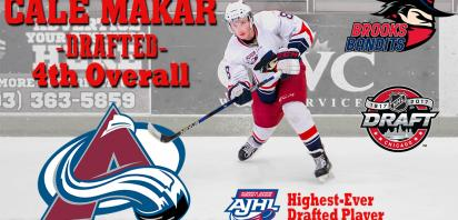 Cale Makar selected 4th overall by Colorado Avalanche at NHL Draft