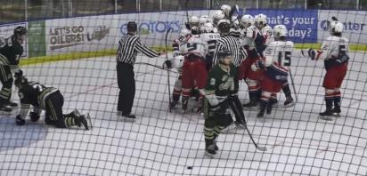 VIDEO: Gravel scores OT winner to give Bandits 6-5 win, 3-1 series lead