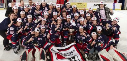 Brooks Bandits Win 2019 National Jr A Championship