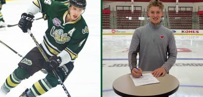 Alumnus Dylan Holloway signs with Edmonton Oilers