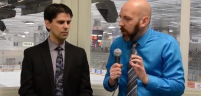 Canalta Hotels AJHL Coaches Show - Kevin Hasselberg, Drumheller Dragons