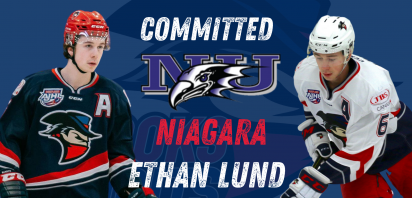 Bandits defenceman Ethan Lund commits to Niagara