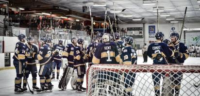 Saints Sweep Wolverines in AJHL North Division Final