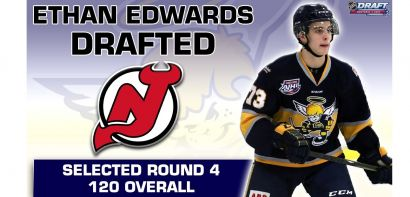 Ethan Edwards Selected 4th Round by the New Jersey Devils