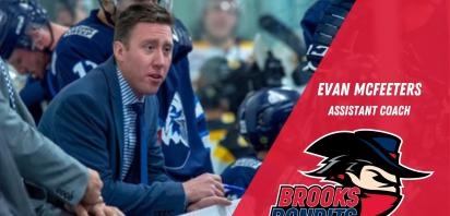 Bandits Name Evan McFeeters Assistant Coach