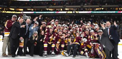 Three AJHL Alumni Crowned NCAA Div I Men's Hockey Champions