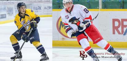 Bast and Okabe Named to NHL Central Scouting Players to Watch List
