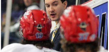 Papaioannou Nominated for CJHL Coach of the Year Award