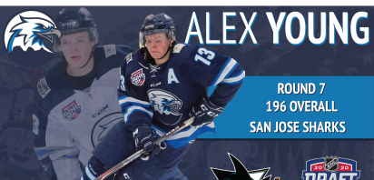 Young Selected by San Jose Sharks in 2020 NHL Draft
