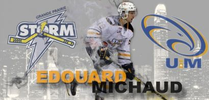 Edouard Michaud Heads to University of Moncton
