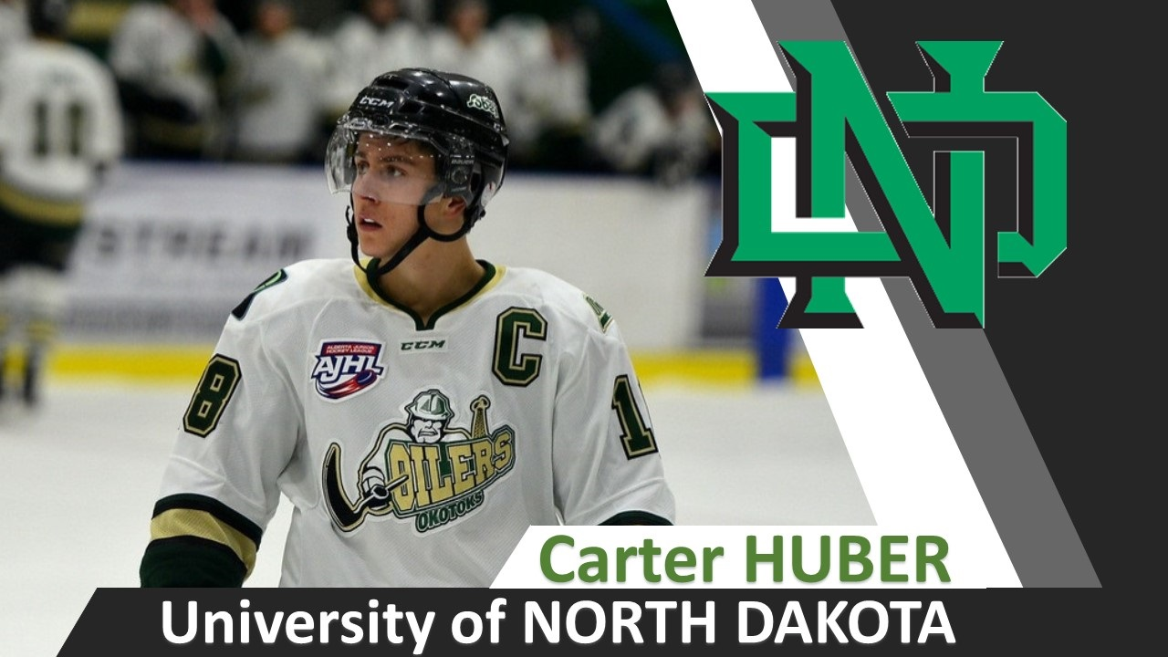 NCHC: Huber At Home - Fighting Hawks Hockey Team To Make Late Roster Change