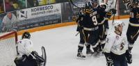 Oil Barons shutout Saints