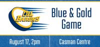 Blue-Gold Game - August 17th