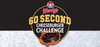 Bandits & Wendy's bring back 60 Second Cheeseburger Challenge