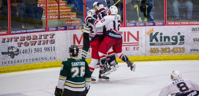 VIDEO: McKechney scores in overtime, sends Bandits to AJHL Final, 3-2 over Okotoks in Game 5