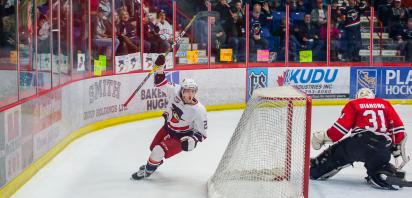 VIDEO: Bandits clobber Wolverines 9-1 in Game 1 of AJHL Final