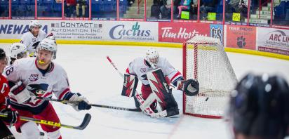 VIDEO: Benson ties shutout record as Bandits take Game 2 3-0 over Whitecourt