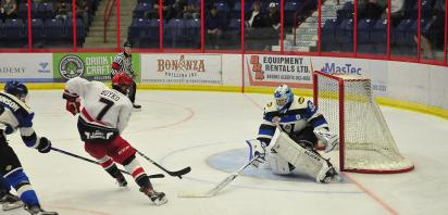 VIDEO: Bandits downed by Penticton 4-2 in pre-season