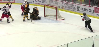 VIDEO: Bandits beat Grizzlys in comeback fashion, 4-1 on Thanksgiving
