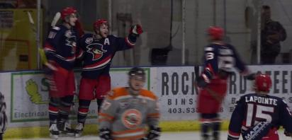VIDEO: Bandits battle back, down Dragons 4-3
