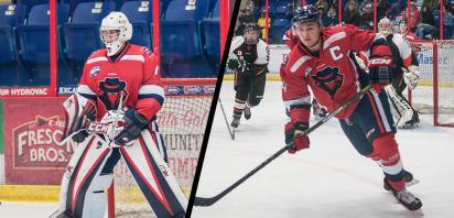 Cesana, Benson sweep AJHL Player of the Week awards