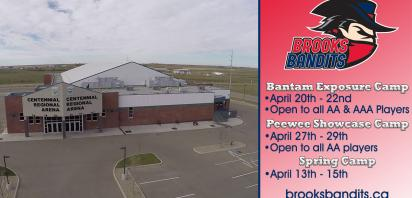 Bandits introduce Bantam Exposure & Peewee Showcase camps for 2018