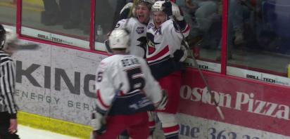 VIDEO: Bandits take Game 1 of division semi, 6-1 over Drumheller