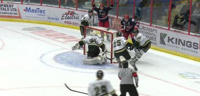 VIDEO: Bandits move to 3-0 on preseason with 6-5 home win over Okotoks