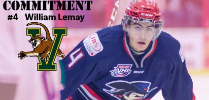 William Lemay commits to the University of Vermont