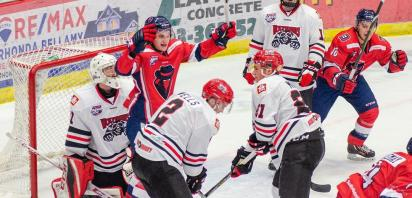 VIDEO: Bandit win streak hits double digits with 4-2 home win over Whitecourt