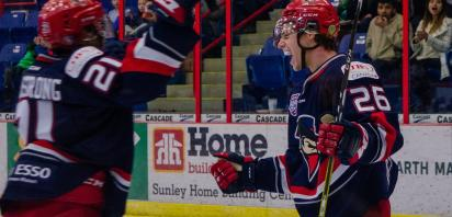 VIDEO: Lucas scores twice as Bandits stay perfect at CRA, beating Spruce Grove 7-3