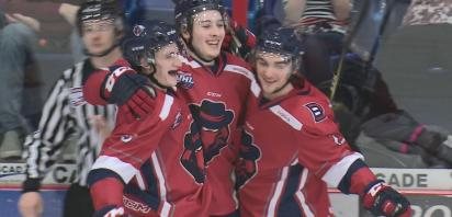 VIDEO: Bandits shut out Bonnyville for 15th straight win, 4-0