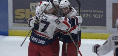 VIDEO: Bandits clinch South with 22nd straight win, 4-2 in Drumheller