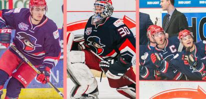 Lemay, Charleson, Papaioannou nominated for AJHL Awards
