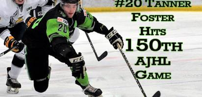 Foster to suit up for 150th AJHL Game