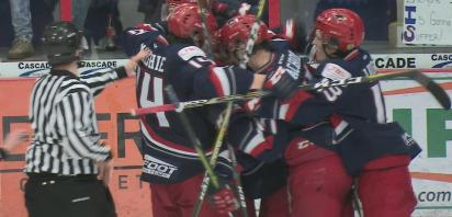 VIDEO: Bandits take 2-0 series lead with 8-1 win over Canmore