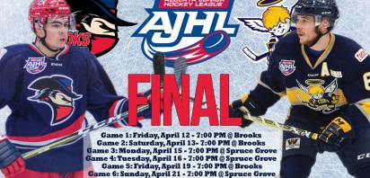 Bandits kick off AJHL Final on Friday against Spruce Grove