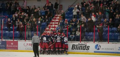 VIDEO: Gravel plays hero in double OT as Bandits win Game 2 3-2 over Spruce Grove