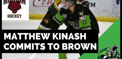 Kinash Commits to Brown University