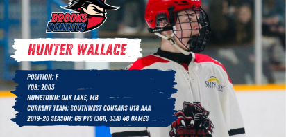 Hunter Wallace commits to Brooks for 2021-22 season