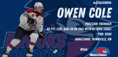 Bandits acquire Owen Cole for future considerations