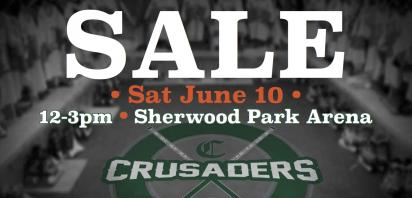 Crusaders Locker Room Sale