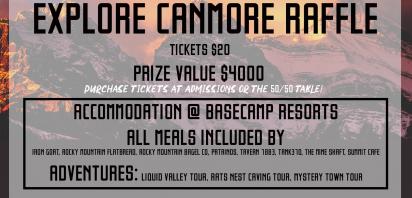 Explore Canmore Raffle