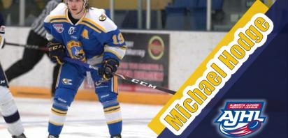 Hodge named AJHL Player of the Month
