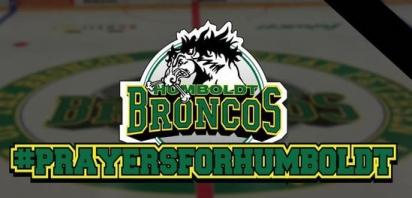 Canmore Eagles sending thoughts and condolences to the Humboldt Broncos