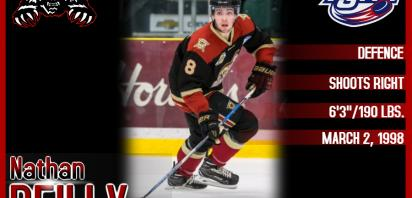 Wolverines Acquire Reilly from West Kelowna