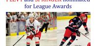 Bandits Nominated for League Awards