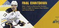 Final Countdown - Last Game Tonight!