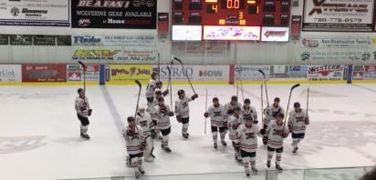 Wolverines Earn First Win, Defeat Drayton Valley 4-1