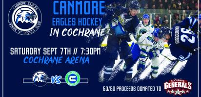 Exhibition Home Game: IN COCHRANE